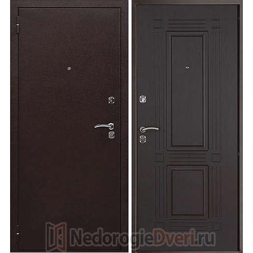 Входная металлическая дверь Триумф Венге (Россия)
