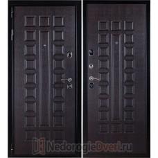 Входная металлическая дверь Премиум 3К Венге