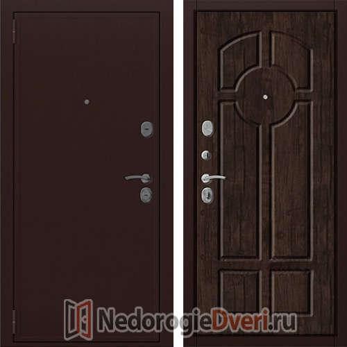 Входная металлическая дверь Zetta Евро 2/Б2 Дуб Антик