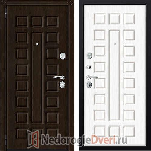 Входная металлическая дверь Zetta Комфорт 3/МАХ Белое Дерево