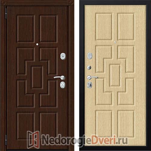 Входная металлическая дверь Zetta Комфорт 3/МАХ Светлый Венге