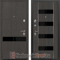 Входная металлическая дверь Zetta Премьер ПЗ/КБ1 Венге Табако
