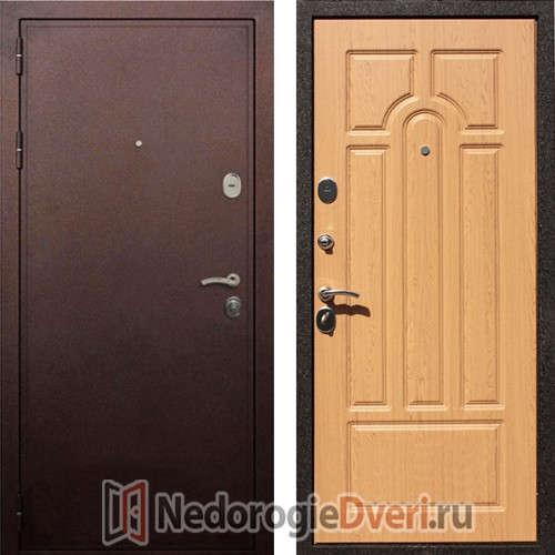Стальная дверь Art Lock 6А Дуб Светлый