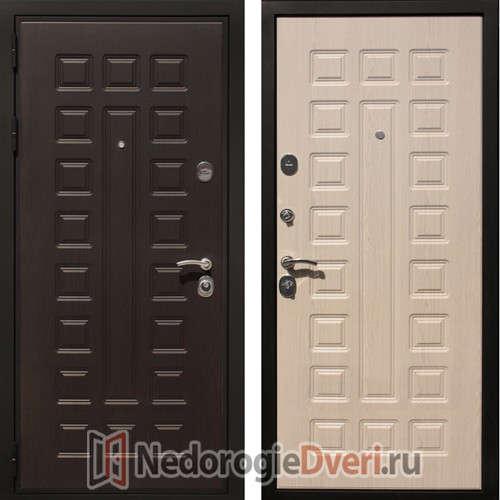Входная металлическая дверь Art Lock 4G Беленый дуб