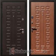 Входная дверь Art Lock 4G Орех Трёхконтурная