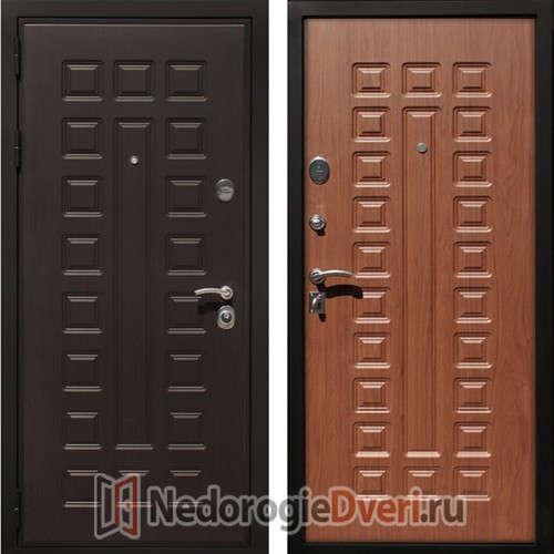 Входная дверь Art-Lock 4G Орех ТРИ КОНТУРА УПЛОТНЕНИЯ