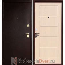 Входная металлическая дверь Art-Lock-3A Беленый дуб