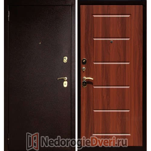 Входная металлическая дверь Art-Lock-3A Итальянский Орех