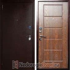 Входная металлическая дверь Art-Lock-3A Дуб Шоколадный