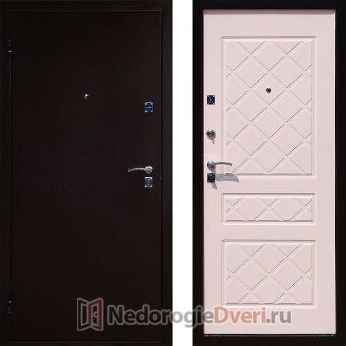 Входная металлическая дверь Стоп Эко Бел дуб
