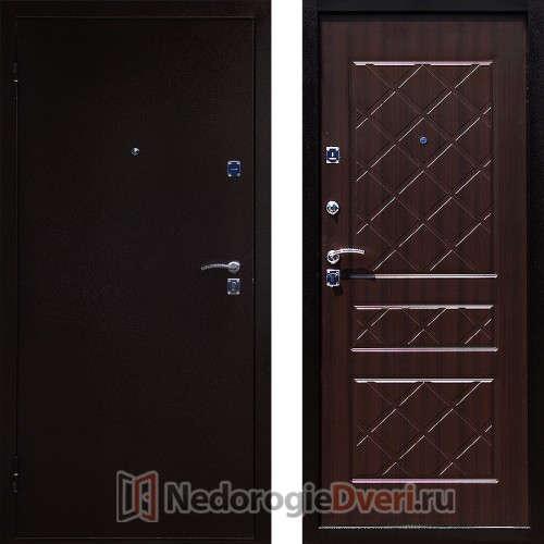 Входная металлическая дверь Стоп Эко Венге