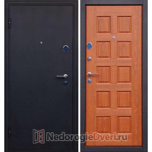 Входная металлическая дверь Геркон Щит Орех