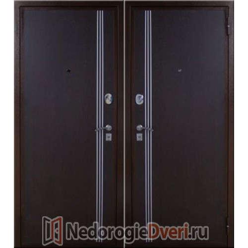 Входная металлическая дверь ЮГ-04 Венге-Венге