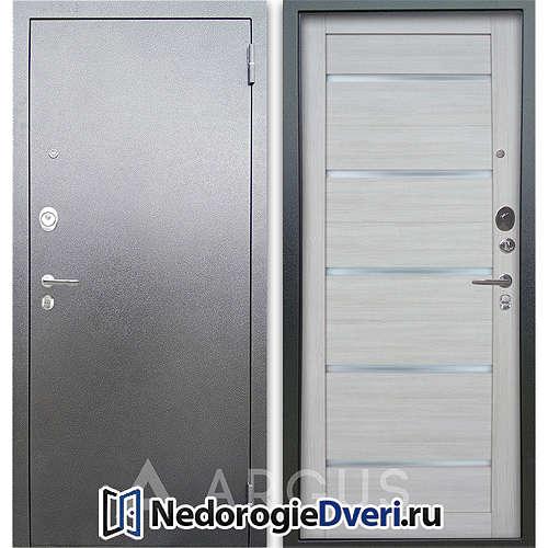 Входная дверь Аргус Люкс АС Серебро антик Александра Буксус