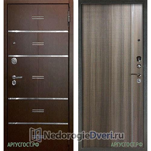 Входная дверь Аргус Люкс АС 2П Лайн Венге/Гауда Керамика