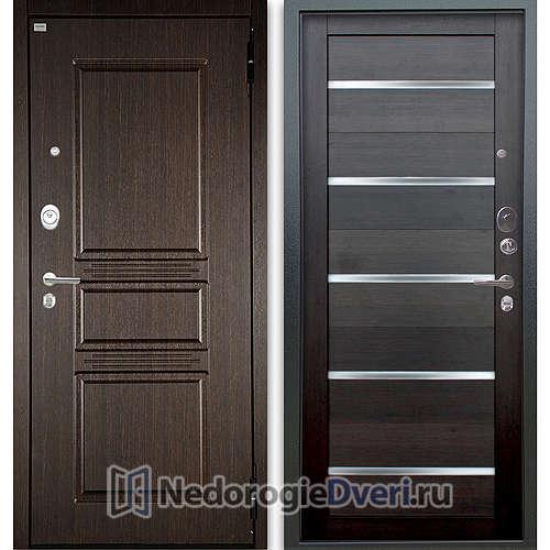 Входная дверь Аргус Люкс АС 2П Сабина Венге/Александра Вельвет