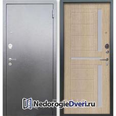 Входная дверь Аргус Люкс АС Серебро антик Альфред Капучино