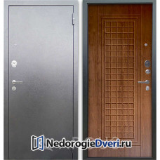 Входная дверь Аргус Люкс АС Серебро антик Альфред Дуб золотой