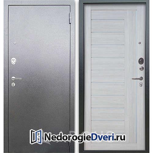 Входная дверь Аргус Люкс АС Серебро антик Диана Буксус