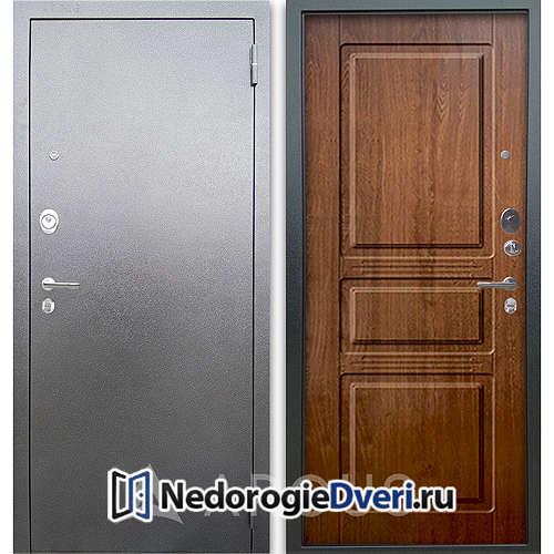 Входная дверь Аргус Люкс АС Серебро антик Сабина Дуб золотой