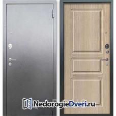 Входная дверь Аргус Люкс АС Серебро антик Сабина Капучино