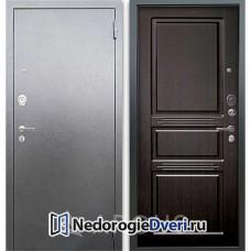 Входная дверь Аргус Люкс АС Серебро Сабина Венге тисненый
