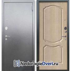 Входная дверь Аргус Люкс АС Серебро антик Сонет Капучино