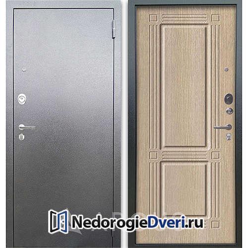 Входная дверь Аргус Люкс АС Серебро антик Триумф Капучино