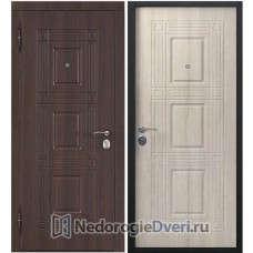 Входная дверь Бастион Эко W Лиственница Мокко