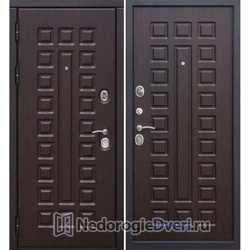 Входная дверь в квартиру Бастион 120 S (Утеплённая шумоизоляционная) Венге