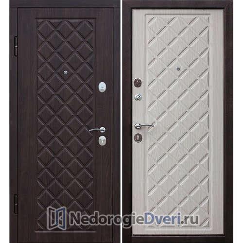 Входная дверь Бастион Ромб Беленный дуб
