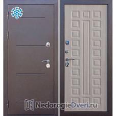 Входные двери с терморазрывом  Бастион Термо 110 (С терморазрывом) Лиственница Мокко