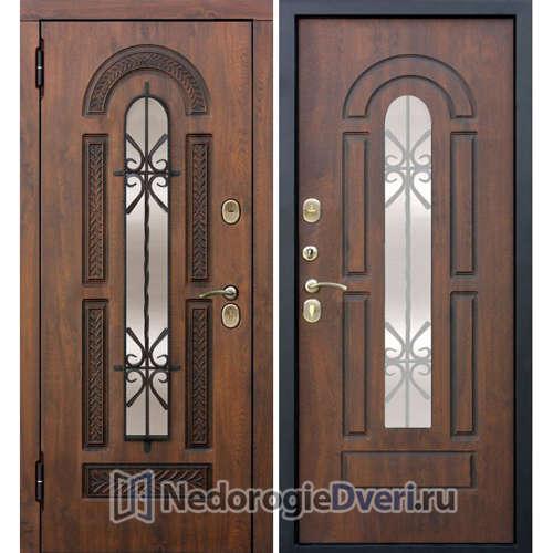 Входная дверь Бастион W Грецкий орех