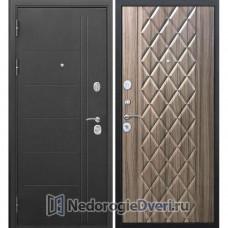 Входная дверь Бастион 100 Т Муар Палисандр темный