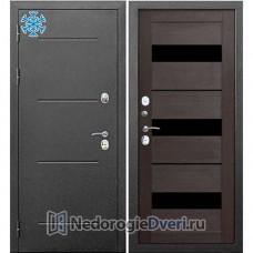 Двери с Терморазрывом дверь Бастион Термо 110 Серебро Темный кипарис