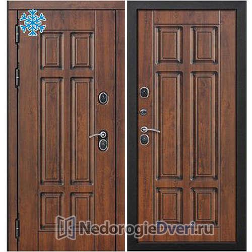 Входная дверь Бастион Термо 130 Грецкий орех