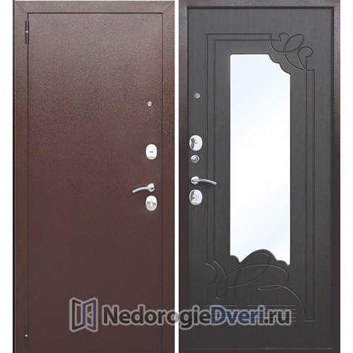 Входная дверь Бастион А с зеркалом Венге