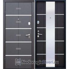 Входная дверь Бастион АТ с зеркалом (красивые двери) Венге