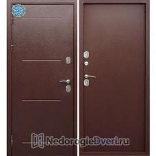 Дверь с терморазрывом Бастион Термо 110 (уличная два листа металла) металл / металл