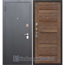 Входная дверь Бастион 75 N Царга Дуб санремо темный