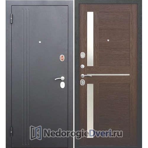 Входная дверь Бастион 75 N Царга Каштан мускат
