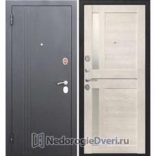 МЕТАЛЛИЧЕСКАЯ ДВЕРЬ БАСТИОН 75 N ЦАРГА КАШТАН ПЕРЛАМУТР