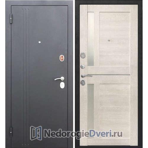 Входная дверь Бастион 75 N Царга Каштан перламутр