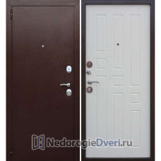 Входная дверь Бастион Гарда 8 мм Белый ясень