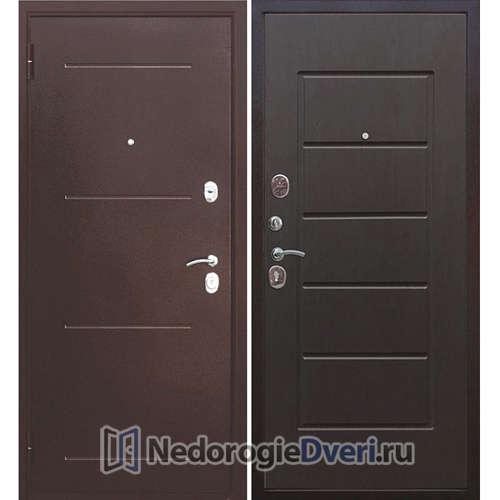 Входная дверь Бастион 75 Медь / Венге