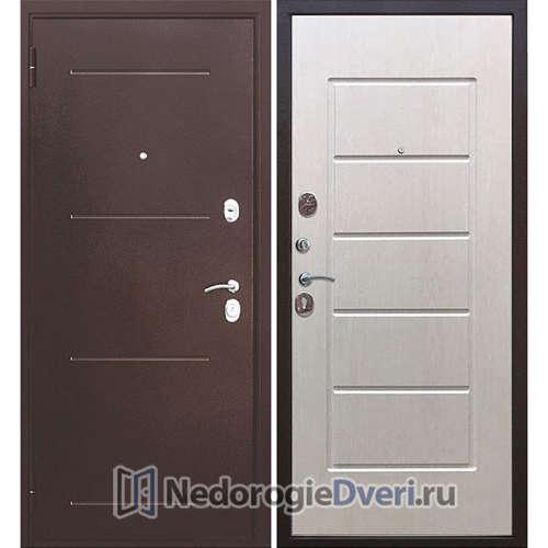 Входная дверь Бастион 75 Медь / Белый ясень