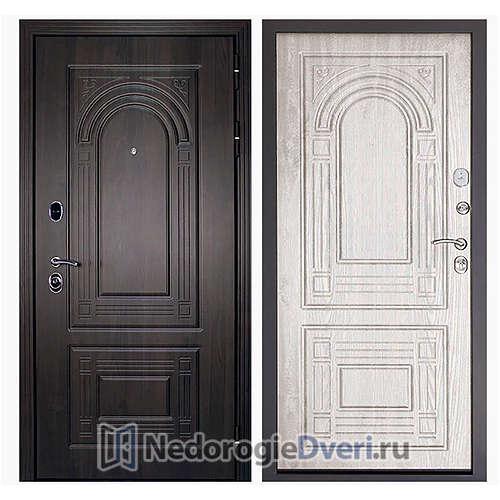 Входная дверь Дверной континент Флоренция Беленый дуб