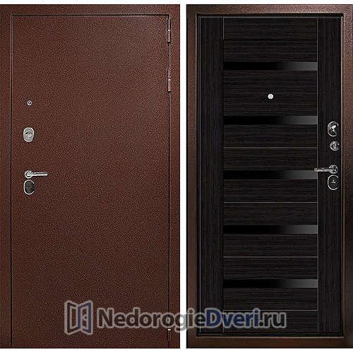 Входная дверь Дверной континент Гарант Царга Венге