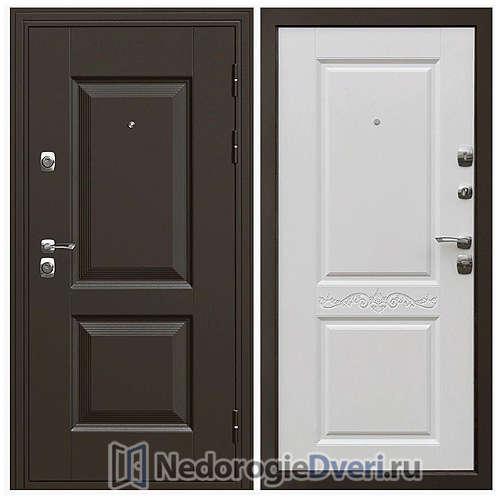 Входная дверь Дверной континент Гранд Матовый белый