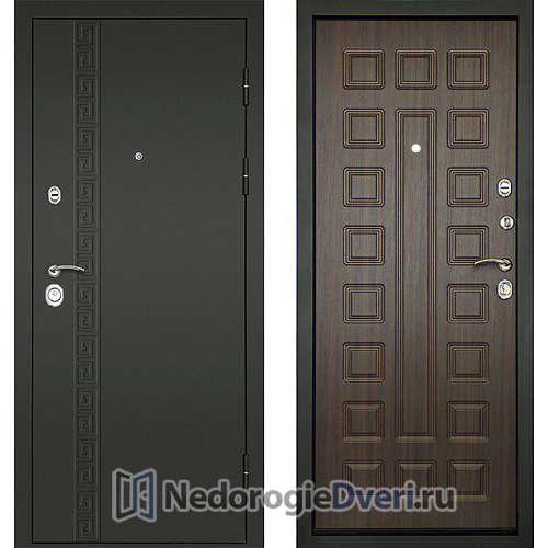 Входная дверь Дверной континент Сити-3К Венге